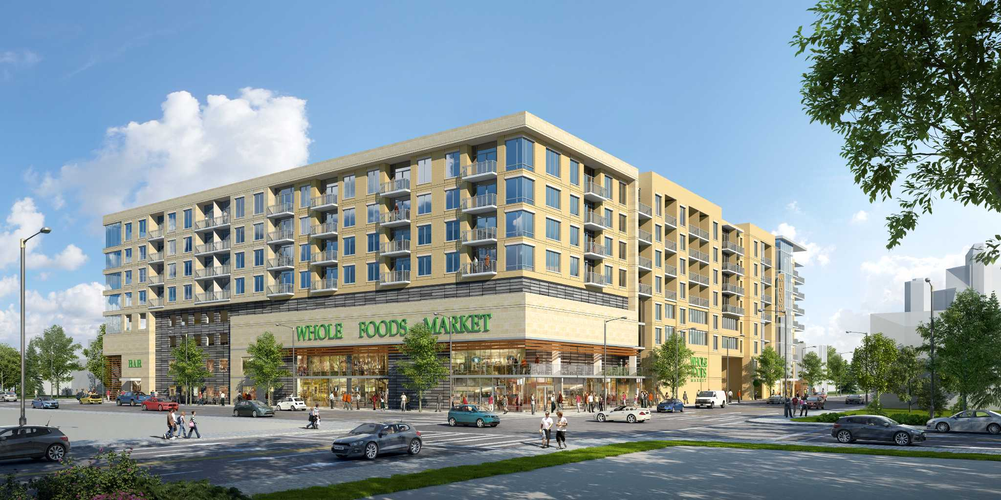 Midtown project to combine Whole Foods, luxury apartments - Houston  Chronicle