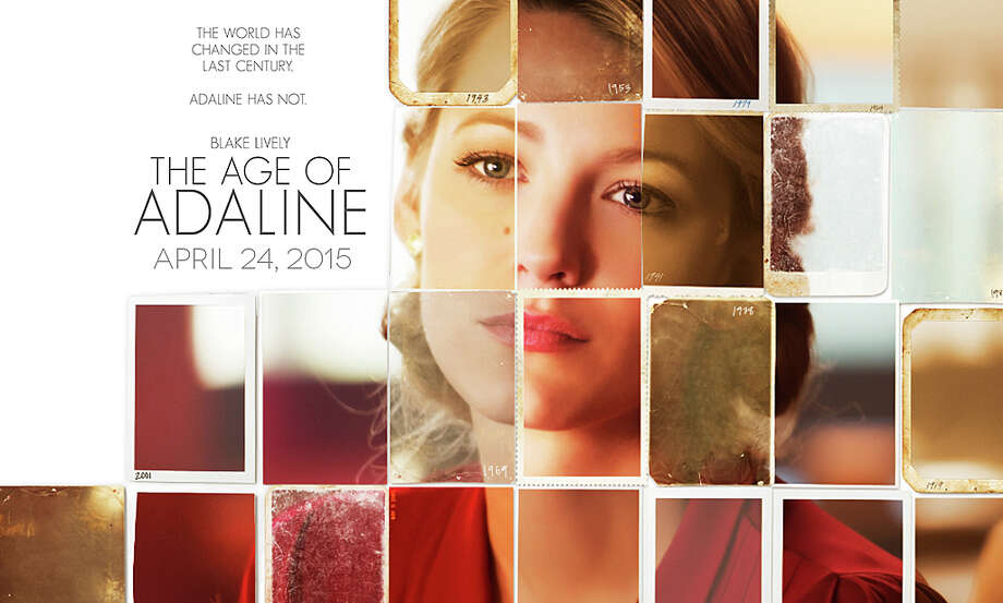 """The Age of Adaline"" is a new movie starring Blake Lively as a woman who stops aging at the age of 29. Photo: Contributed Photo / Westport News"