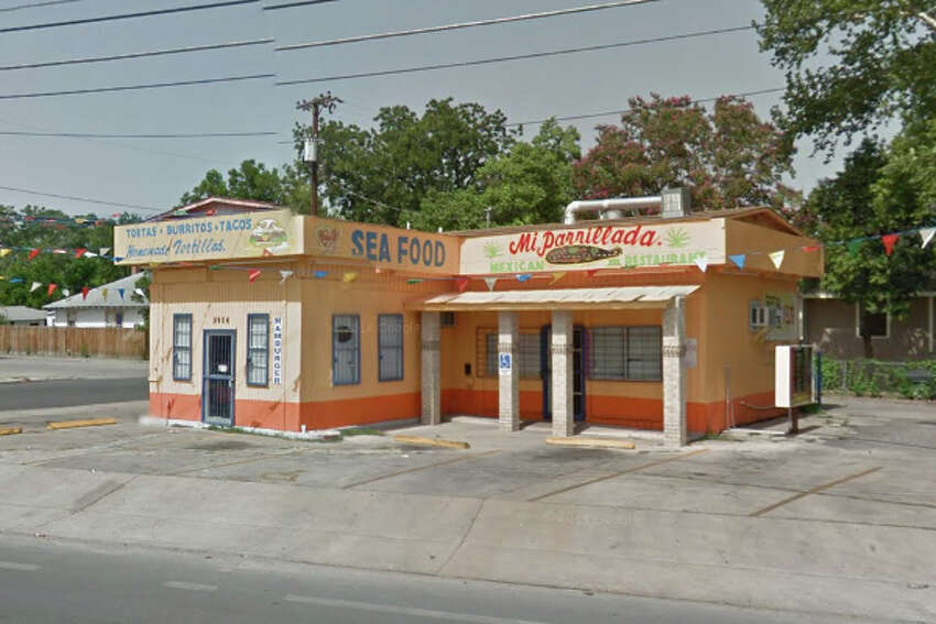Mi Parrillada Mexican Food: 5906 S. Flores St., San Antonio, Texas 78214Date: 05/31/2016 Score: 80Highlights: Barbacoa not held at correct temperature, chemical sanitizers not within compliance range, prepared foods did not have consume-by date, food prep counter near drive thru window not clean to sight and touch