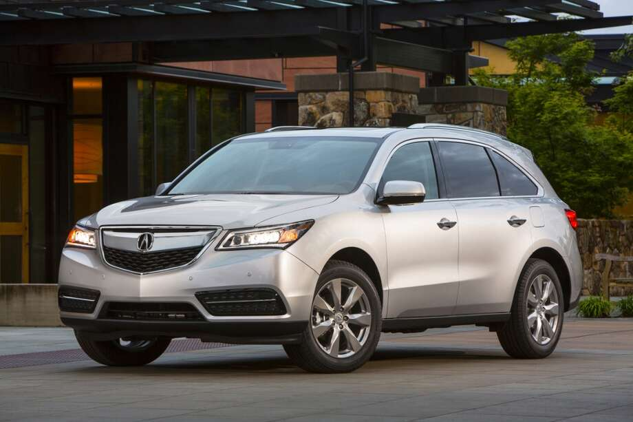 "Acura MDXMSRP: $42,865 | Consumer Reports describes the MDX as ""functional, family-friendly, and competitively priced."" Photo: Acura, Wieck"
