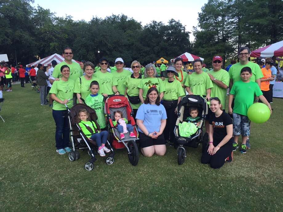 Team members at the walk included Shelley and Elizabeth Green, Beth Wolff, Ed Wolff and his son Jake, Cathi Lamberth with her family, Aldo DiVece and his family and Kristen Flavin.