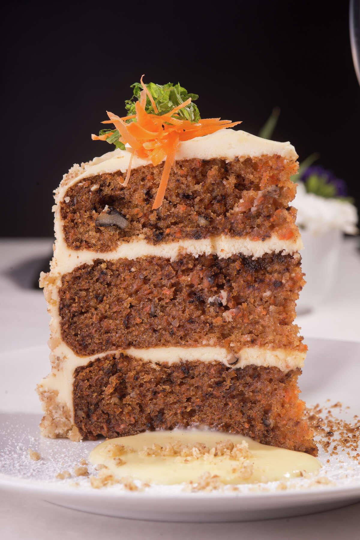Carrot cake from Valeria Farm to Table Restaurant in Boerne.