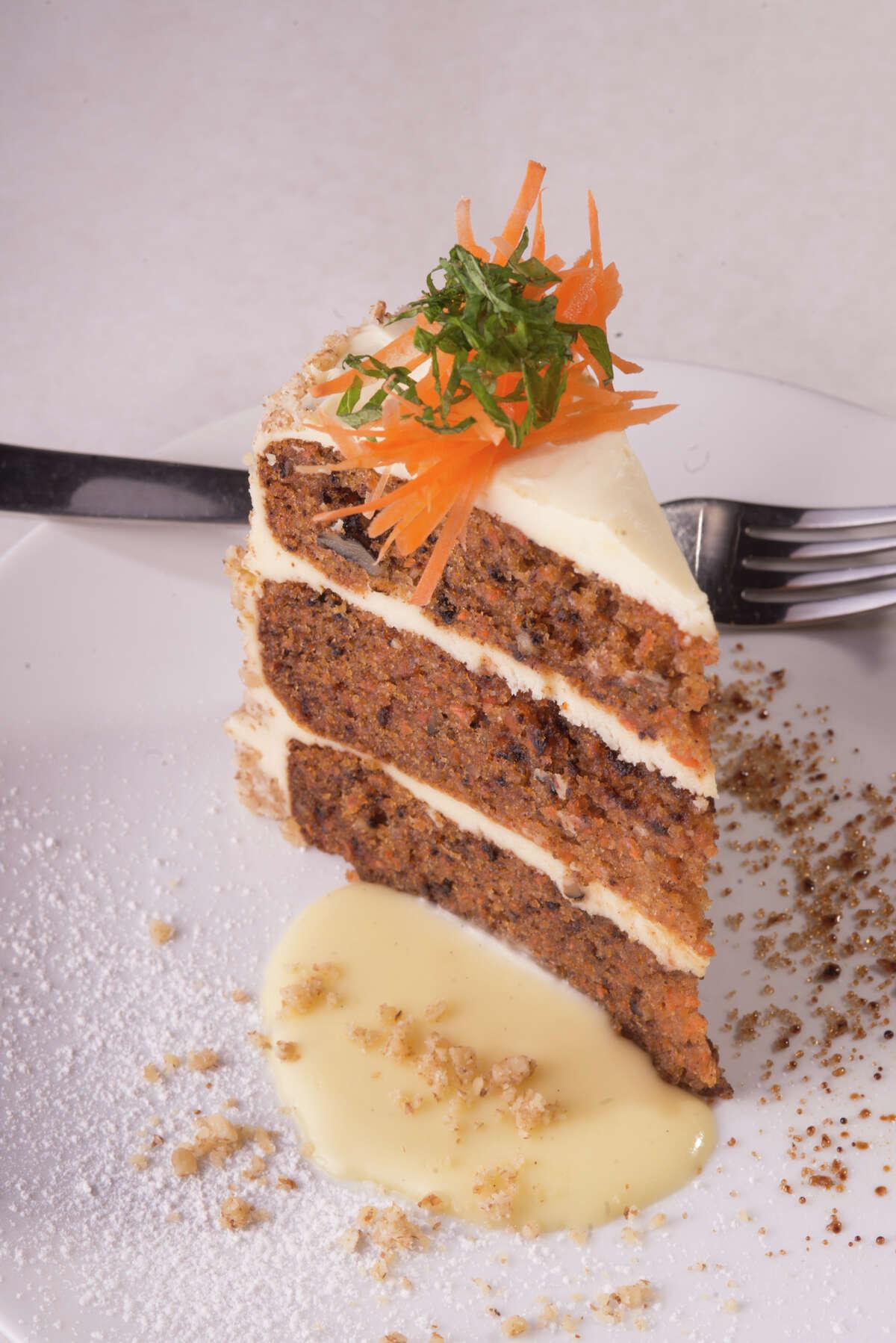 Carrot cake from Valeria in Boerne.