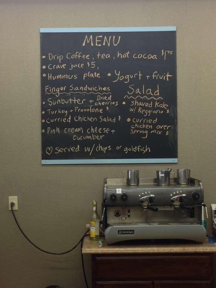 Utopia Play Cafe menu Photo: Meredith Hayashi /Meredith Hayashi
