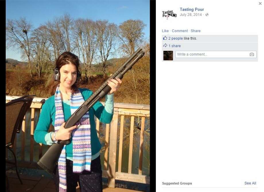 Wine blogger Jade Helm shares the name with Operation Jade Helm 15, a U.S. military operation that conspiracy theorists claim will lead to a federal takeover of Texas. Helm told The Washington Post that she's had to turn down Facebook friend requests from conspiracy theorists and enduring ribbing from Facebook friends about the shared name. Photo: Screenshot Via Facebook