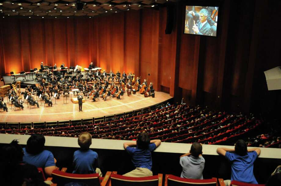 For fifth graders in Clear Creek Independent School District, going to the Houston Symphony's special concert is a rite of passage. In the future, the orchestra may likely go to them, as the symphony adds four string players whose primary duties will be community outreach. Photo: Courtesy