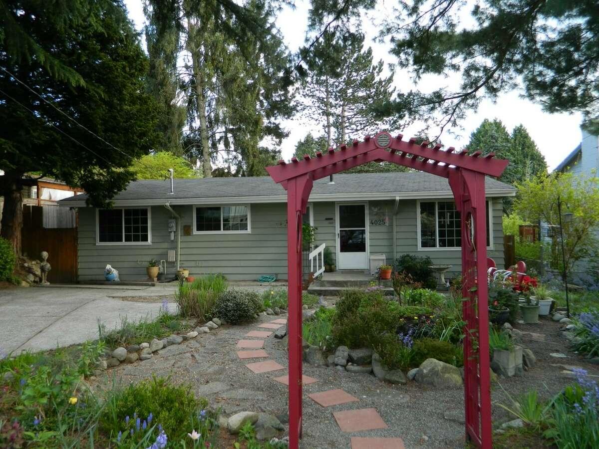 The backyard of 4025 N.E. 115th St.