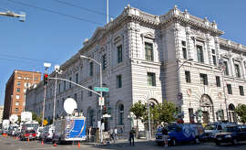 The most sumptuous federal building in San Francisco is home to the 9th U.S. Circuit Court of Appeals. (AP Photo/Paul Sakuma)