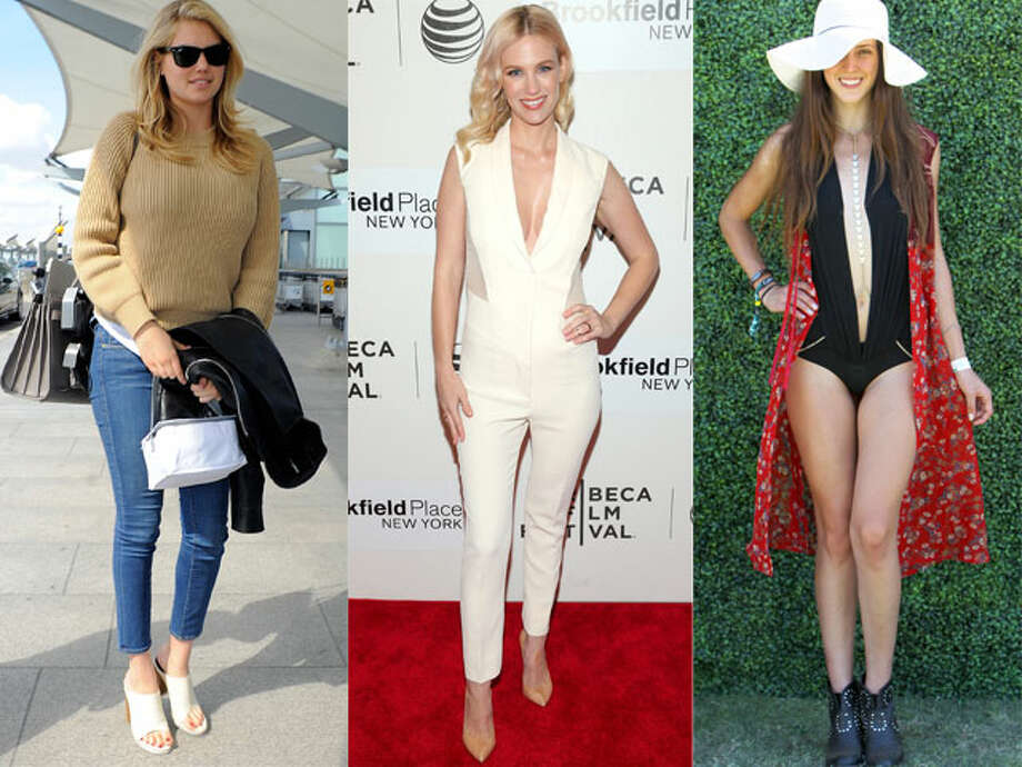 Google's inaugural Fashion Trends Report reveals the most popular rising styles and fading fads. Photo: Getty Images