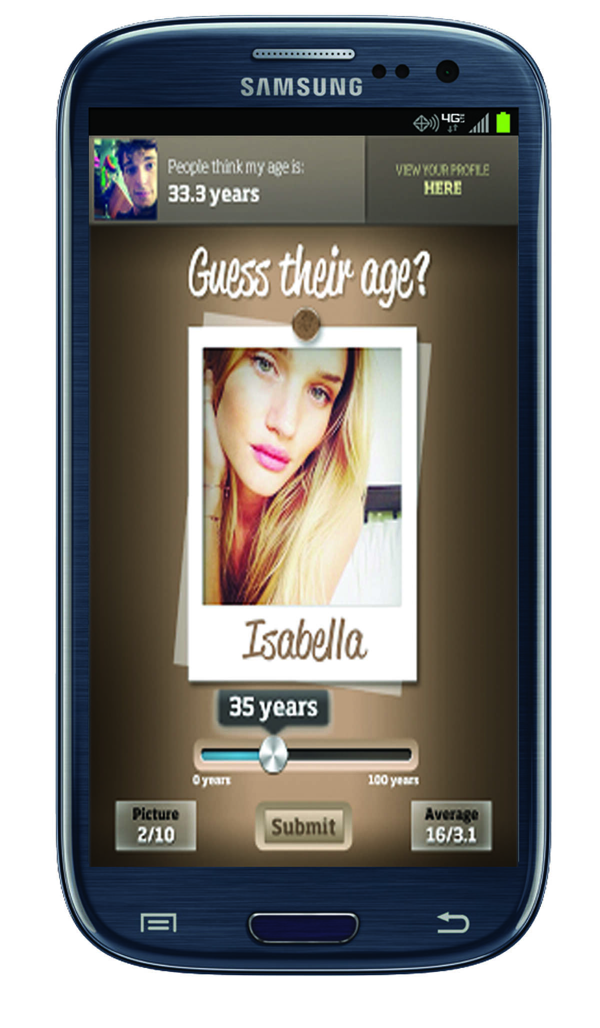 How OLd Do I Look? app (http: /how-old.net)