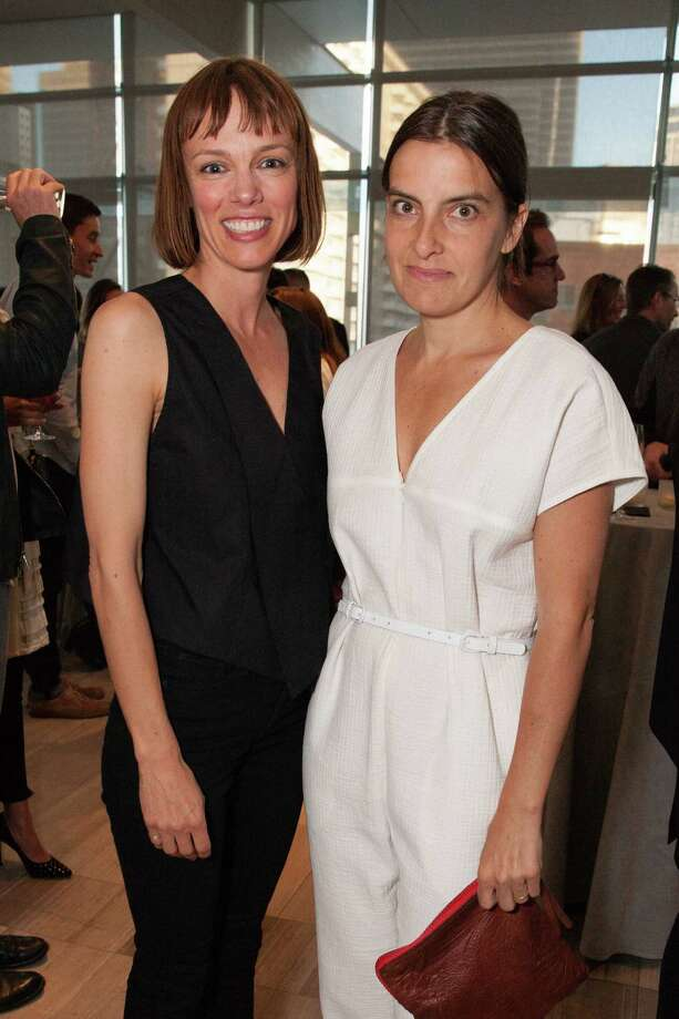 Susan Donaldson and Rachel Comey at the opening celebration for the annual Bloomberg Businessweek Design conference on April 27, 2015 Photo: Drew Altizer, Drew Altizer Photography