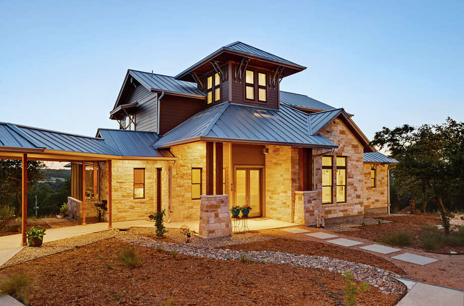 "This 3,117-square-foot home was recently named the ""Best Energy-Smart Home"" by ""Fine Homebuilding"" magazine. Photo: Courtesy Photo/Gary Russ / Copyright 2014 Craig Washburn Pictures"