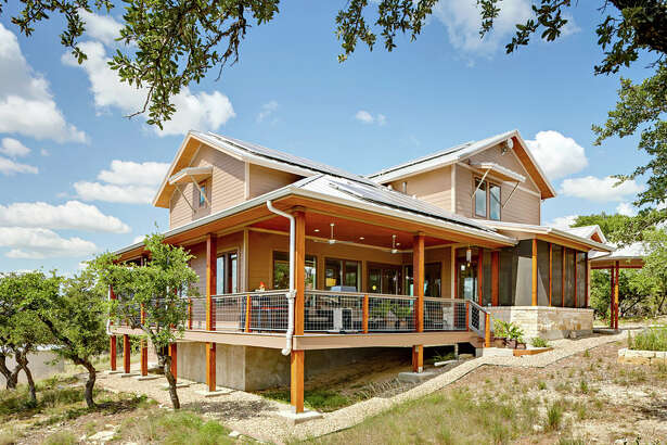 "This 3,117-square-foot home was recently named the ""Best Energy-Smart Home"" by ""Fine Homebuilding"" magazine."