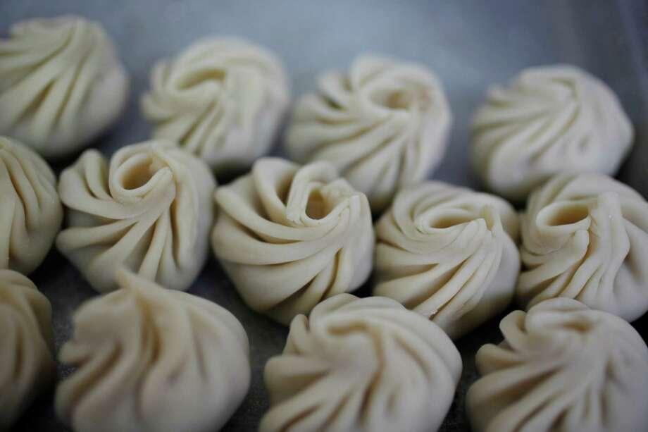 Turkey Momo's from Bini's Kitchen. Photo: Lea Suzuki / The Chronicle / ONLINE_YES