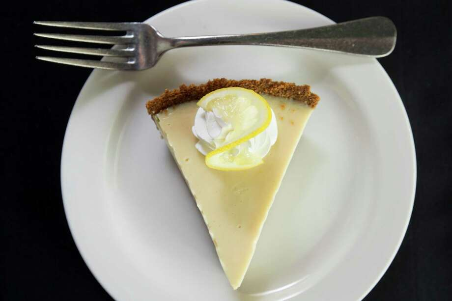 Lemon Ice Box Pie as served at Ouisie's Table. Photo: Brett Coomer, Staff / © 2015 Houston Chronicle