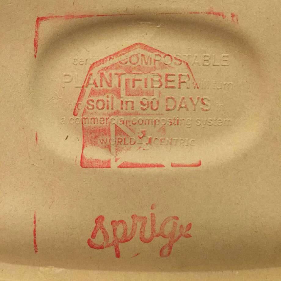 Sprig's meals come in stamped, compostable packaging. Photo: Amanda Gold / ONLINE_YES