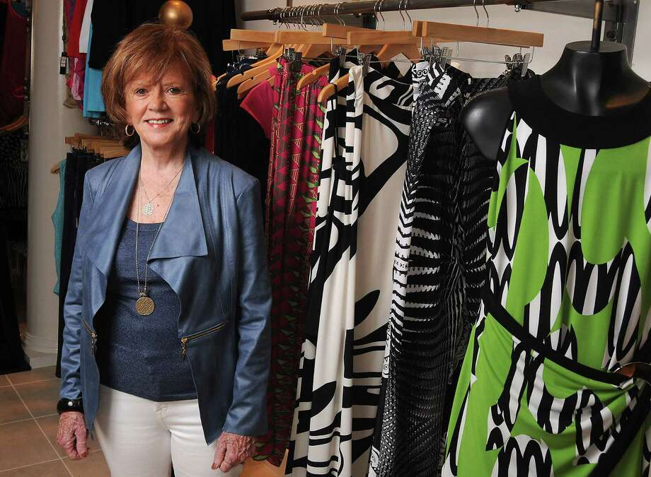 Owner Linda Griffin at Scruples Boutique on FM 1960 Monday May 04, 2015.(Dave Rossman photo) Photo: Dave Rossman, Freelance / Freelalnce