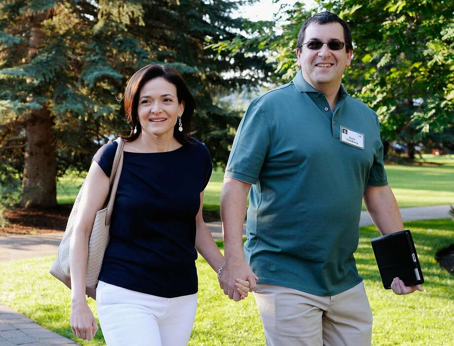Dave Goldberg, husband of Sheryl Sandberg And Silicon Valley  Entrepreneur Has Died Suddenly Aged 47 SUN VALLEY, ID - JULY 10:  Sheryl Sandberg, COO of Facebook, and her husband David Goldberg arrive for morning session of the Allen & Co. annual conference at the Sun Valley Resort on July 10, 2013 in Sun Valley, Idaho. The resort is hosting corporate leaders for the 31st annual Allen & Co. media and technology conference where some of the wealthiest and most powerful executives in media, finance, politics and tech gather for weeklong meetings. Past attendees included Warren Buffett, Bill Gates and Mark Zuckerberg. Photo: Kevork Djansezian