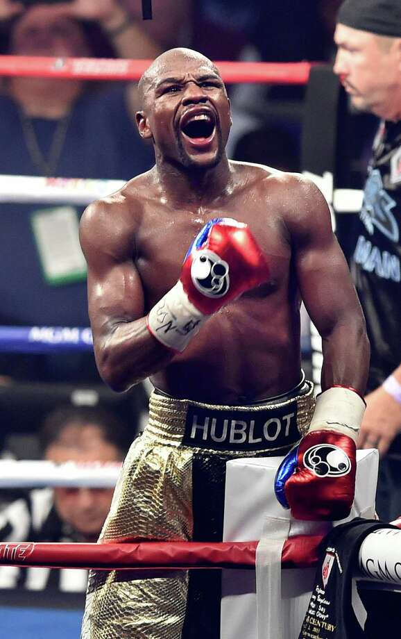 Floyd Mayweather Jr. Athlete$300 Million Photo: Wally Skalij, MBR / Los Angeles Times