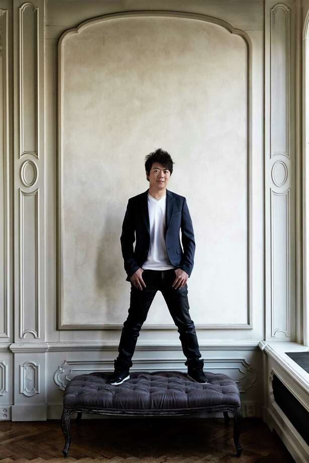 Concert pianist Lang Lang will perform Tuesday at Jones Hall. Photo: Harald Hoffman / ONLINE_YES