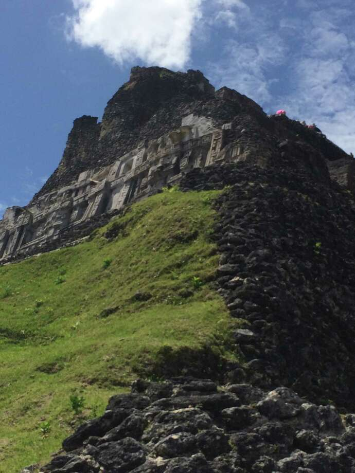 Chronicle reader Lisa Meier of Houston submitted this vacation photo taken at the Xunantunich ruins in Belize. Photo: Lisa Meier / Lisa Meier