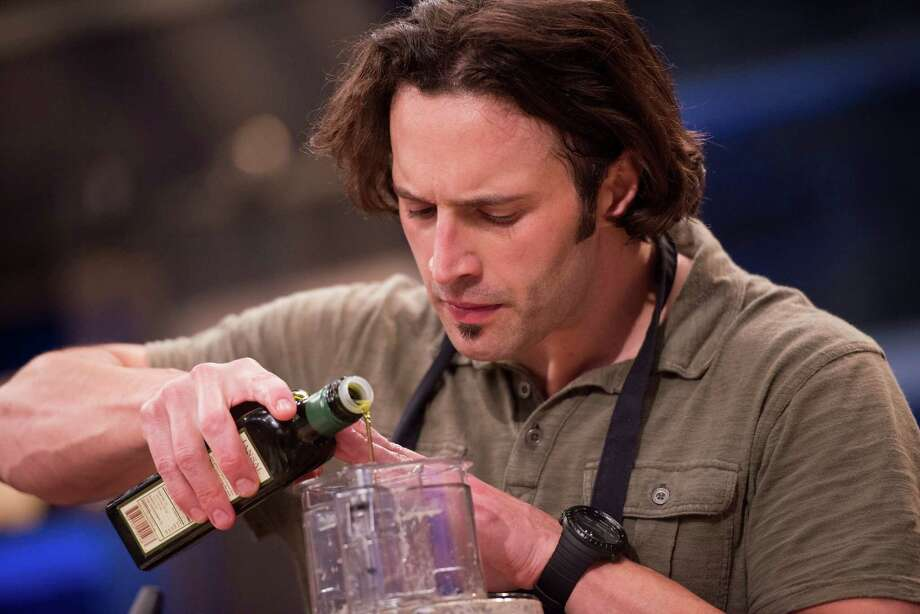 Luca Della Casa routinely changes his menus and his exercise. Photo: Courtesy Food Network / © 2014, Television Food Network, G.P. All Rights Reserved.