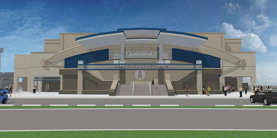 Artists rendering of the new Northside Sports Gym, with groundbreaking expected to begin on Friday, May 9. Photo: Courtesy Photo /Northside ISD