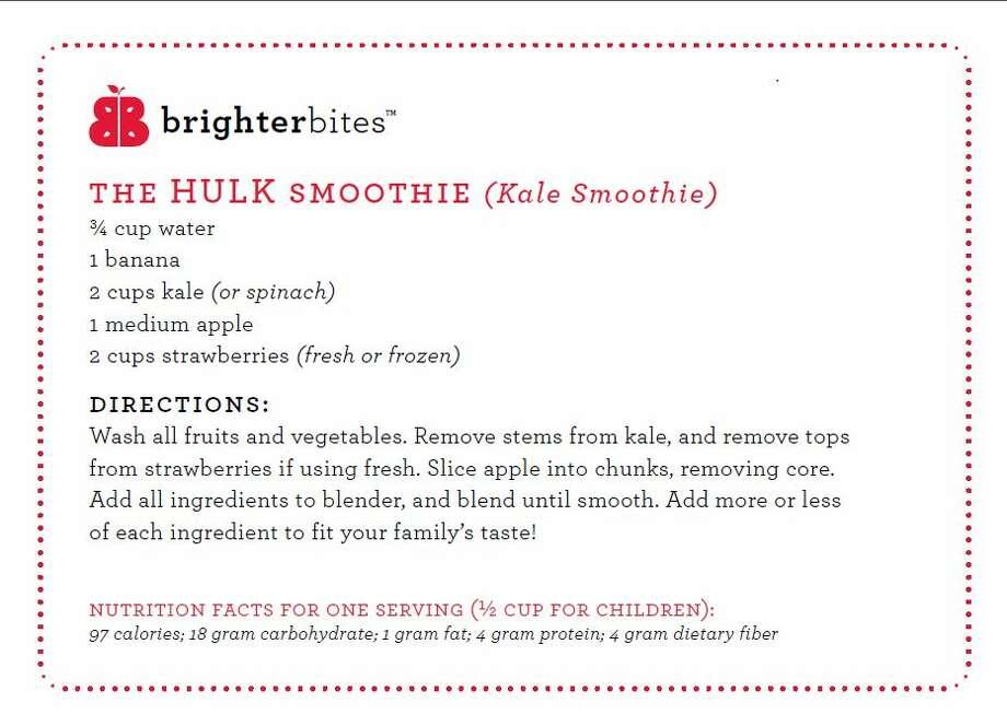 A Brighter Bites recipe. Photo: Gray, Lisa, Brighter Bites