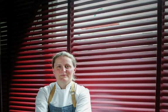 Chef April Bloomfield at Tosca Cafe in S.F.