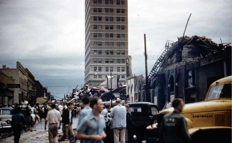 "Waco's one and only skyscraper, the Amicable Building, swayed but did not topple during the deadly 1953 tornado Photo: Hannibal ""Joe"" Jaworski, THE TEX / Hannibal ""Joe"" Jaworski, THE TEX"