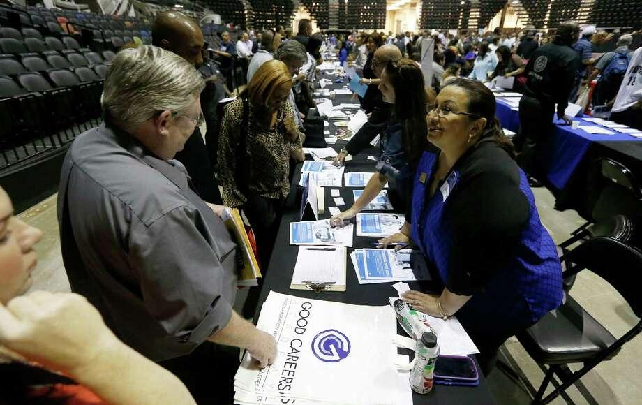 Texas employers added 16,700 nonfarm jobs, the Texas Workforce Commission said Friday. Photo: Kin Man Hui /San Antonio Express-News / ©2015 San Antonio Express-News