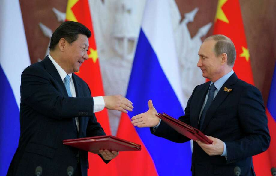 Russia China Pacts Highlight Shared Interests Times Union