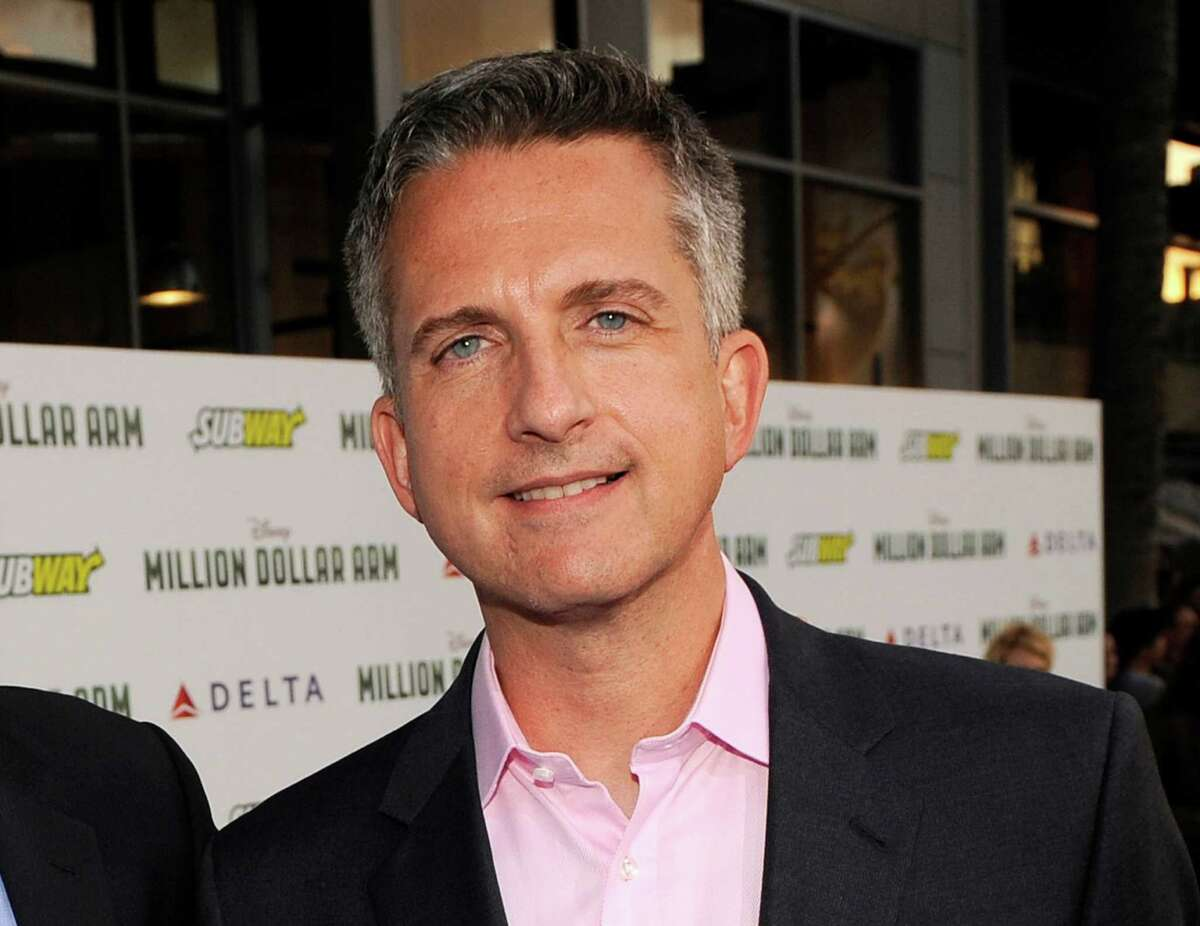 FILE - In this May 6, 2014 file photo, Bill Simmons arrives at the world premiere of