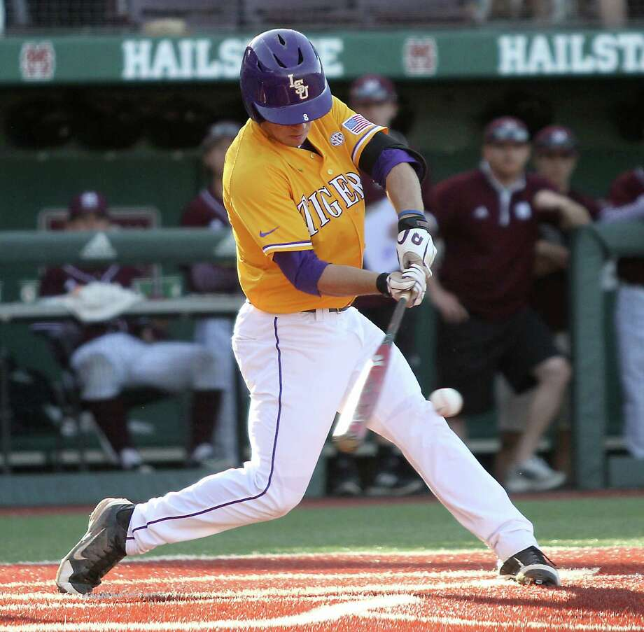LSU shortstop Alex Bregman is one of the college prospects whom the Astros are considering taking with the No. 2 or No. 5 overall pick of this year's draft, to be held June 8. Photo: Jim Lytle, FRE / FR156075 AP