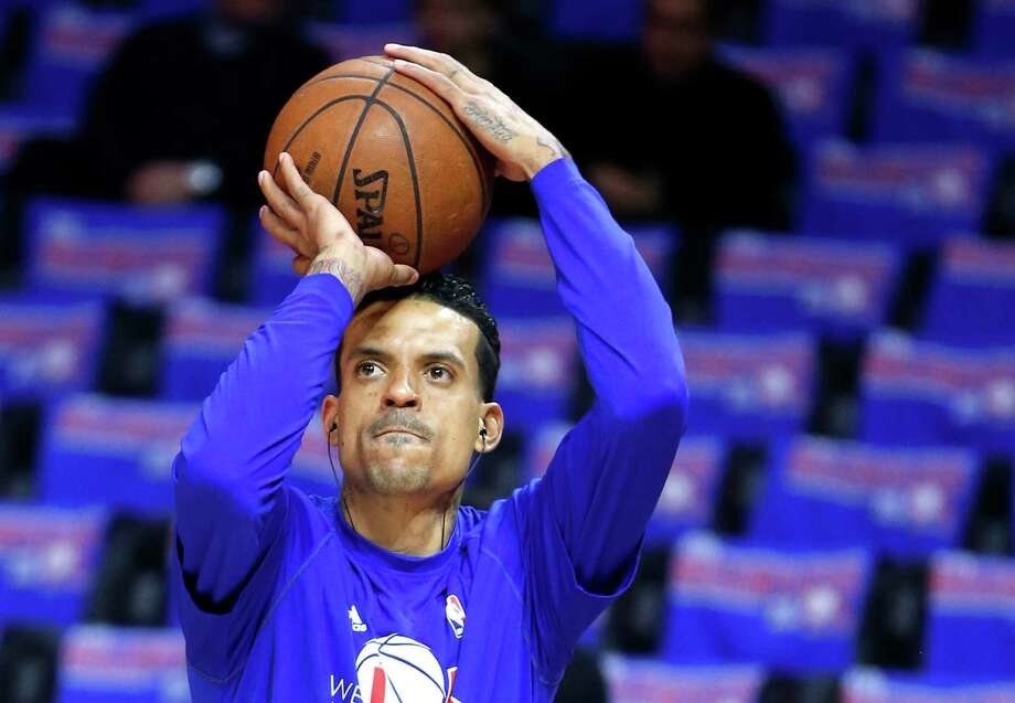 Los Angeles Clippers forward Matt Barnes warms up before the start of Game 3 of the NBA Western Conference semifinals against the Houston Rockets at Staples Center on Friday, May 8, 2015, in Los Angeles.  ( Karen Warren / Houston Chronicle  ) Photo: Karen Warren, Staff / © 2015 Houston Chronicle