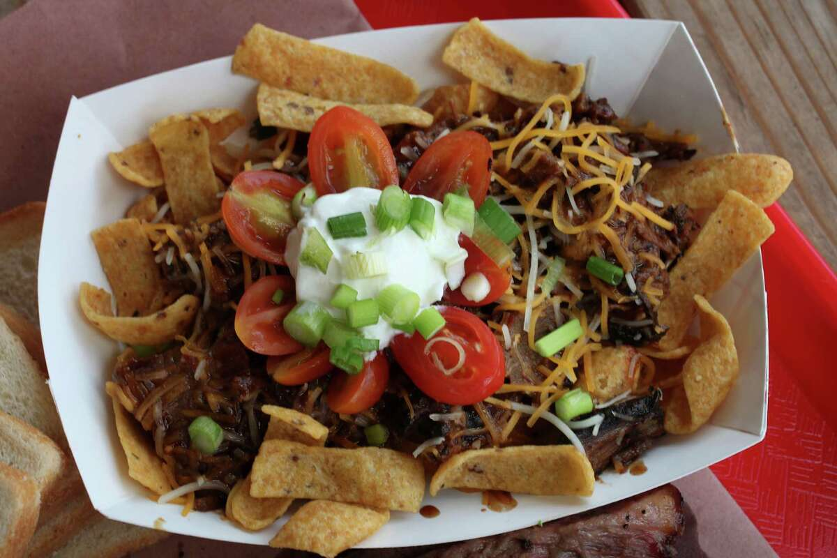 Frito pie at B&D Ice House June 2, 2014