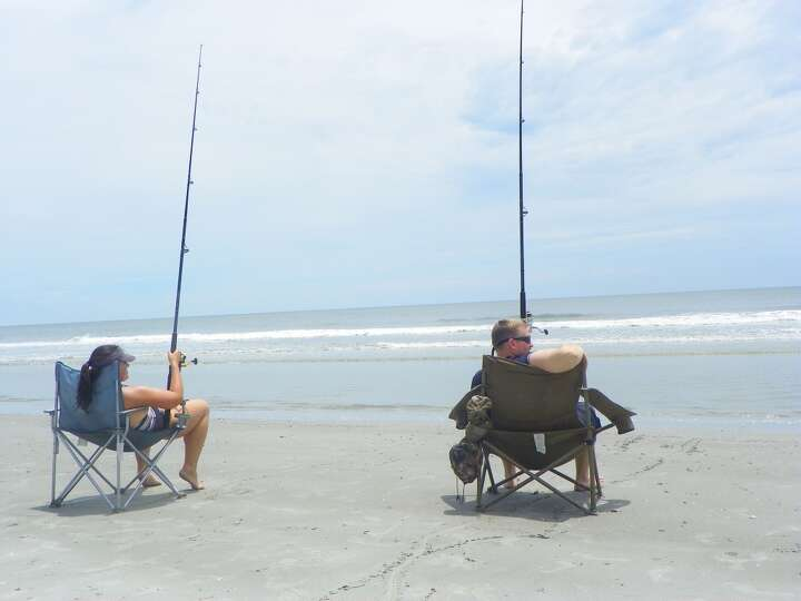 One of our favorite activities on hunting island is for Long island surf fishing report
