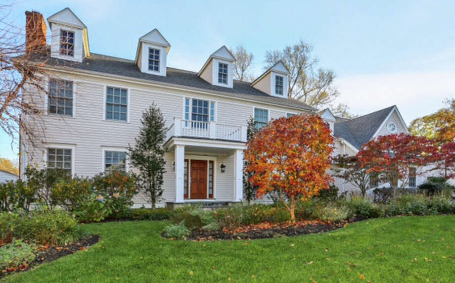 The house at 136 Old Road is on the market for $1,849,000. Photo: Contributed Photo / Westport News