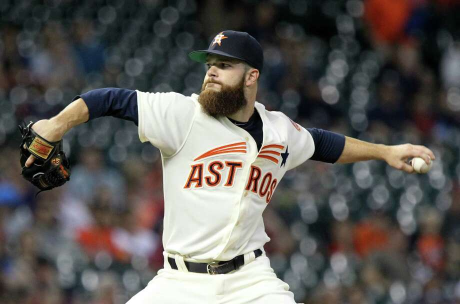 Astros starting pitcher Dallas Keuchel has become a master of control with his pitches. Photo: Gary Coronado, Staff / © 2015 Houston Chronicle