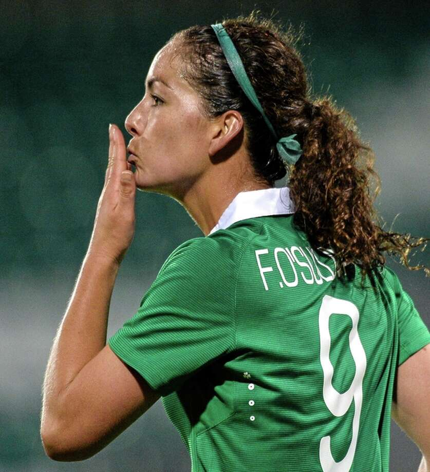 At USF, Fiona O'Sullivan captained the women's team during her senior season. Photo: David Maher / SPORTSFILE / Football Association Of Ireland / ONLINE_YES