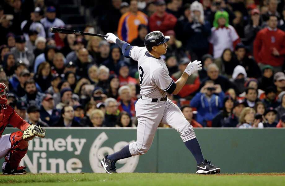 New York Yankee Alex Rodriguez hits a homer, tying Willie Mays with 660 career home runs on the all-time list. A reader says Rodriguez does not deserve any accolades. Photo: Elise Amendola /Associated Press / AP