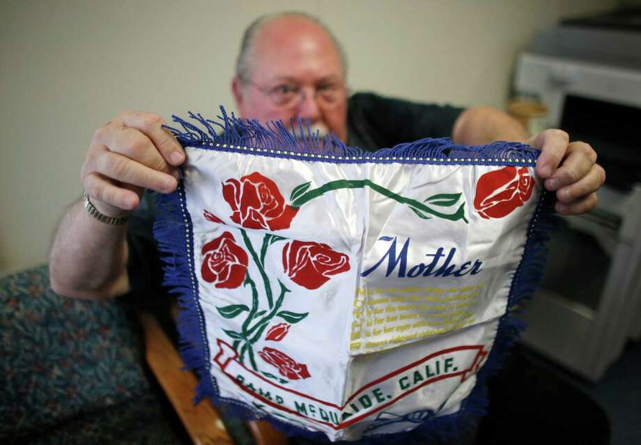 Donald Lamoureux, who grew up in Millville, Mass., said he wanted to buy the envelope with the pillow sham inside after he saw the Millville address. Photo: Steven Senne /Associated Press / AP