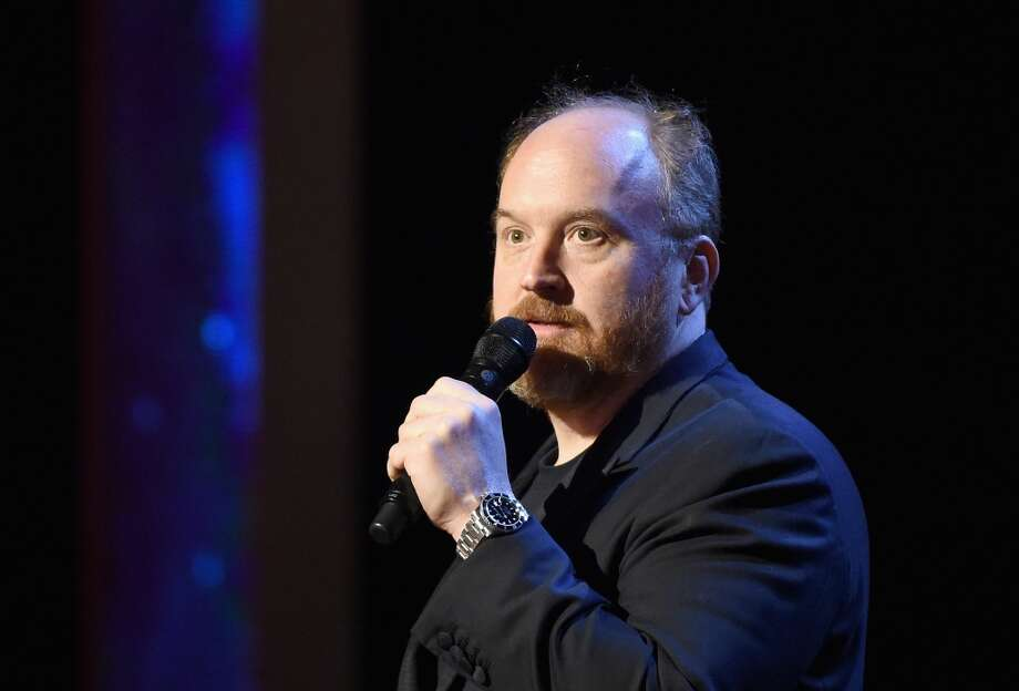 Louis C.K. during a standup routine. Photo: Getty