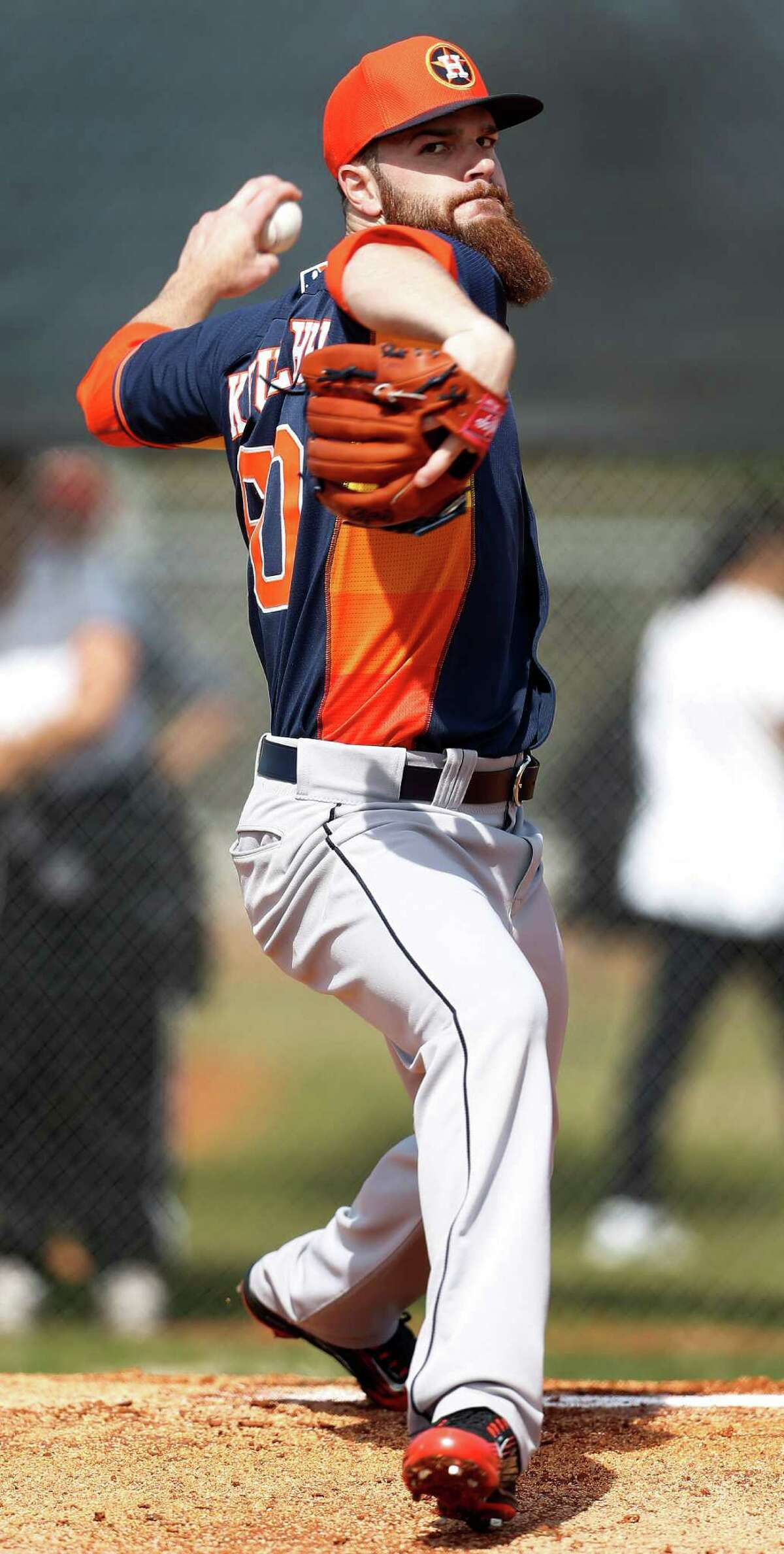 Astros pitcher Dallas Keuchel has carried over his 2014 breakout season into this year.