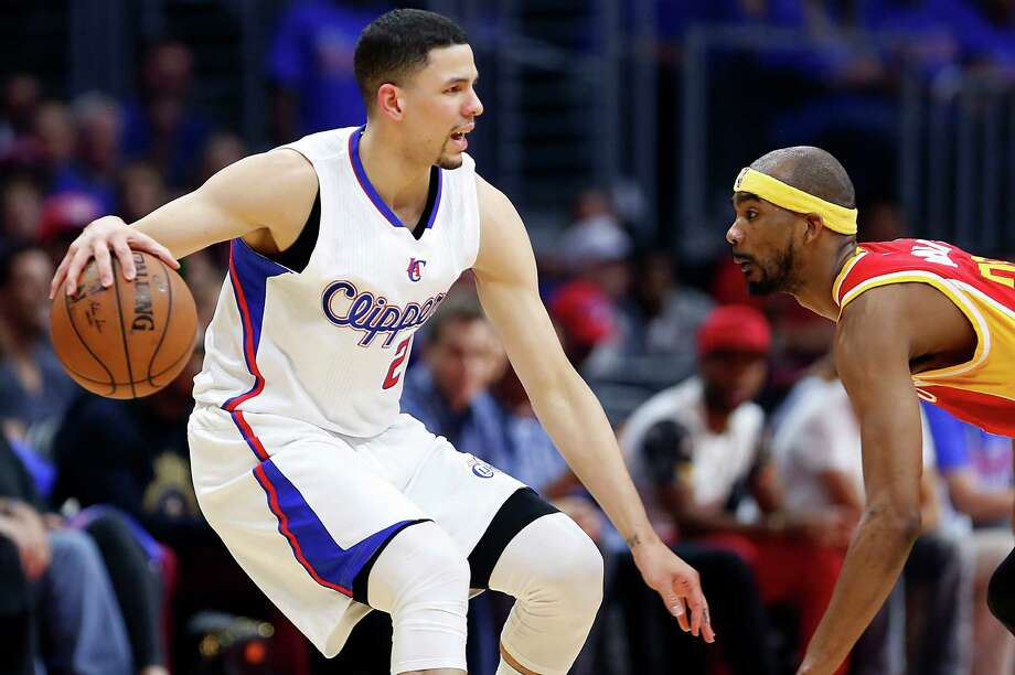 Clippers guard Austin Rivers, left, gave the Rockets something to think about defensively after his 25-point performance in Game 3. Photo: James Nielsen, Staff / © 2015  Houston Chronicle
