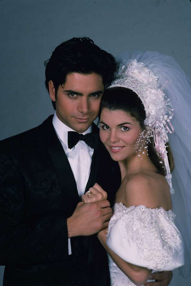 "UNITED STATES - FEBRUARY 15:  FULL HOUSE - ""The Wedding"" Part II"" - Season Four - 2/15/91, Jesse (John Stamos) and Rebecca (Lori Loughlin) tied the knot., Photo: ABC Photo Archives, Getty Images / 1991 American Broadcasting Companies, Inc."