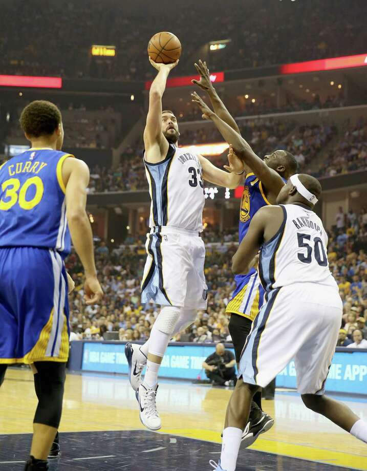 A high schooler in Memphis, Marc Gasol played for the Grizzlies after being traded for his brother Pau. Photo: Andy Lyons / Getty Images / 2015 Getty Images