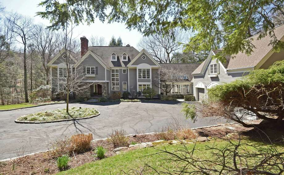 The home at 80 Turning Mill Lanes is for sale at $2,900,00. Photo: Contributed Photo / New Canaan News