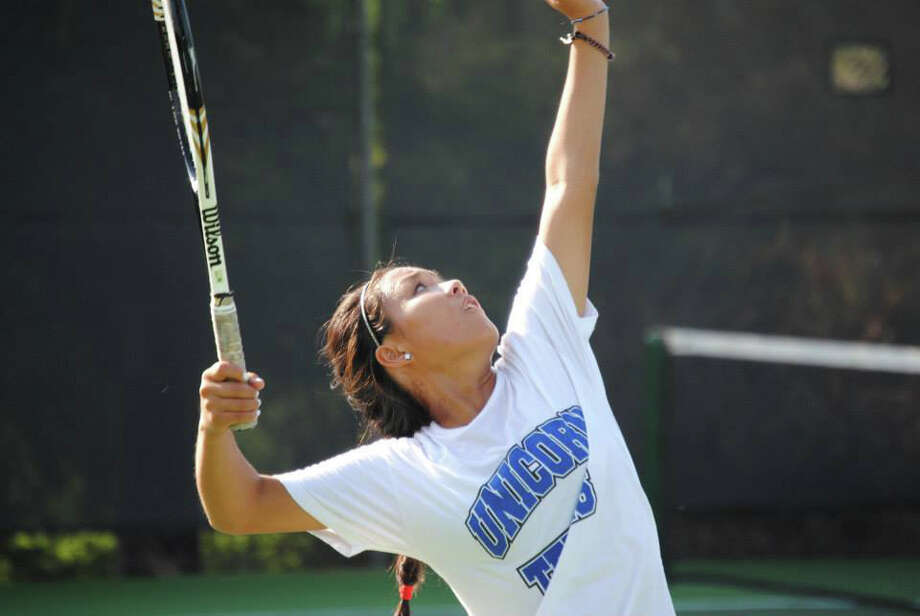 New Braunfels freshman Sammi Gillas will try to capture her third postseason title at the UIL 6A state tournament Tuesday and Wednesday. Photo: Courtesy Photo