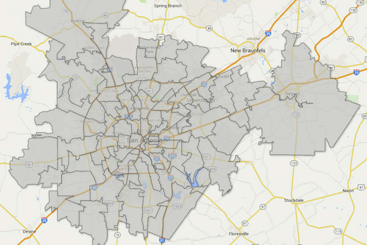 Where is the economic center of San Antonio? Click through to see the San Antonio area ZIP codes home to the most companies.